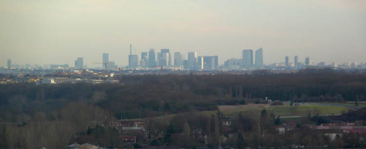Skyline de la Défense