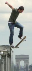 Skate Arc de Triomphe